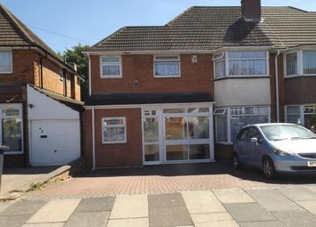 Thumbnail 5 bed semi-detached house for sale in Twycross Grove, Hodge Hill, Birmingham, West Midlands