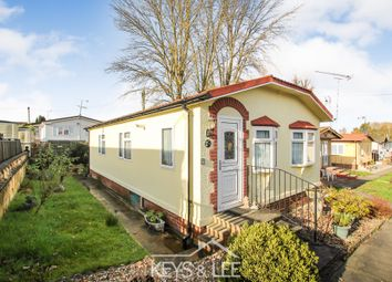 Thumbnail 2 bed mobile/park home for sale in Taylor Gardens, Noak Hill, Romford