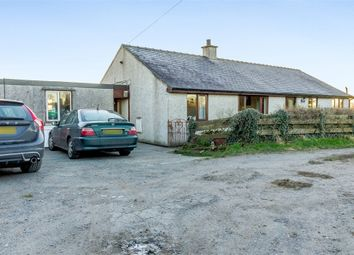 Thumbnail 4 bed detached bungalow for sale in Brynteg, Brynteg, Anglesey