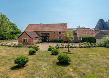 Glade Farm, Hole Lane, Bentley, Farnham, Surrey GU10. 5 bed detached house
