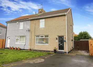 Thumbnail 3 bedroom semi-detached house for sale in Park Crescent, Shiremoor, Tyne & Wear