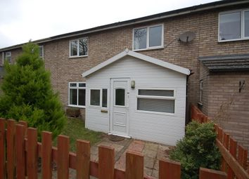 Thumbnail 3 bed terraced house to rent in Kimms Belt, Thetford