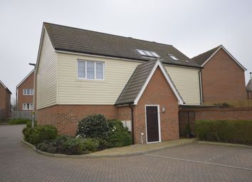 Thumbnail 2 bed flat for sale in Pepperidge Way, Hoo, Rochester