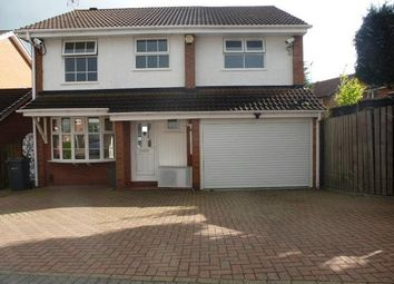 Thumbnail 4 bed property to rent in Bach Mill Drive, Birmingham