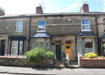 Thumbnail 3 bed terraced house to rent in Neville Terrace, York