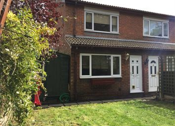 Thumbnail 1 bed end terrace house for sale in Seaton Drive, Ashford, Surrey