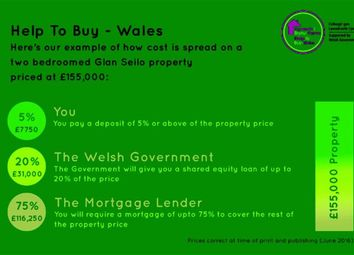 Thumbnail 2 bed property for sale in Ger-Y-Cwm Development, Aberystwyth, Ceredigion