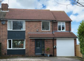 Thumbnail 5 bed semi-detached house for sale in Tinshill Road, Cookridge, Leeds
