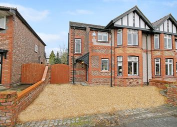 Thumbnail 4 bedroom semi-detached house for sale in Stanley Avenue, Stockton Heath, Warrington