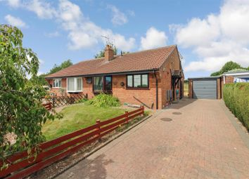 Thumbnail 3 bed semi-detached bungalow for sale in Westfield Close, Nafferton, Driffield