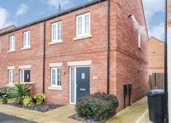 Thumbnail 2 bed end terrace house for sale in Angell Drive, Market Harborough