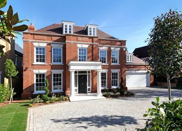 Thumbnail 5 bedroom detached house for sale in Weybridge Park, Weybridge, Surrey