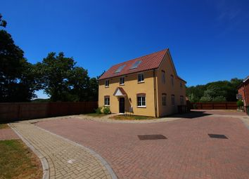 Thumbnail 5 bed detached house for sale in Simpson Way, Wymondham