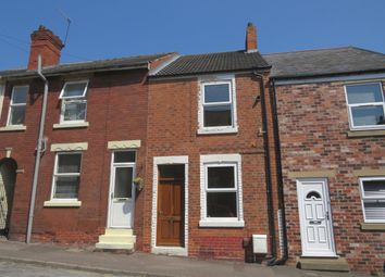 Thumbnail 2 bed end terrace house to rent in Rectory Road, Staveley, Chesterfield