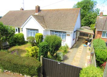 Thumbnail 2 bed semi-detached bungalow for sale in Maer Lane, Littleham, Exmouth