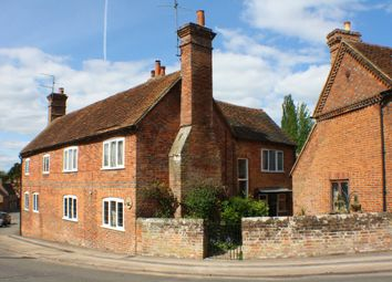 Thumbnail 3 bed semi-detached house for sale in The Street, Aldermaston, Reading