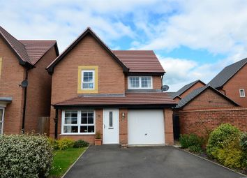 Thumbnail 3 bed detached house for sale in Butterbur Close, Stenson Fields, Derby