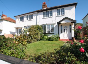 Thumbnail 3 bed semi-detached house for sale in Herne Avenue, Herne Bay