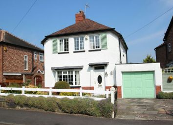 Thumbnail 3 bed detached house for sale in Clarence Road, Hale, Altrincham