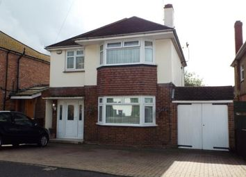 Thumbnail 3 bed detached house for sale in Sundown Avenue, Dunstable, Bedfordshire