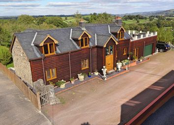 Thumbnail 4 bed detached house for sale in Perth Y Bu, Mochdre, Newtown, Powys