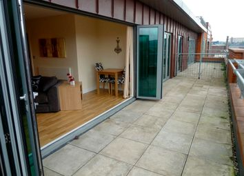 Thumbnail 1 bed flat to rent in Private Roof Terrace. Brewery Wharf, Mowbray Street, Sheffield