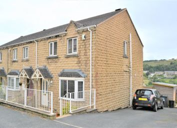 Thumbnail 3 bed end terrace house for sale in New Street, Golcar, Huddersfield