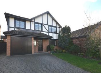 Thumbnail 4 bedroom detached house for sale in Oldcorne Hollow, Yateley, Hampshire