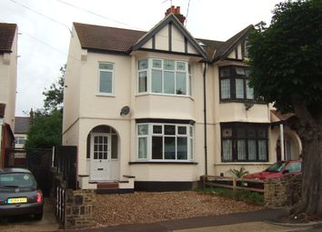 Thumbnail 3 bed semi-detached house to rent in Park Lane, Southend-On-Sea