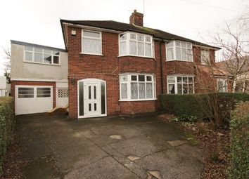 Thumbnail 4 bedroom semi-detached house to rent in Knole Road, Wollaton, Nottingham