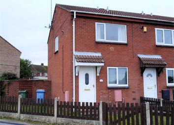 Thumbnail 2 bed end terrace house for sale in Larwood Avenue, Worksop, Nottinghamshire
