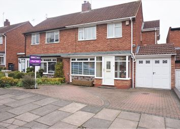 Thumbnail 3 bed semi-detached house for sale in Hay Green Lane, Birmingham