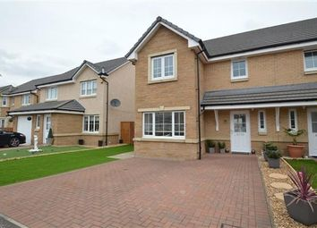 Thumbnail 3 bed semi-detached house for sale in Dunlop Crescent, Stepps, Glasgow