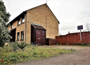 Thumbnail 2 bedroom end terrace house for sale in Marholm Road, Peterborough