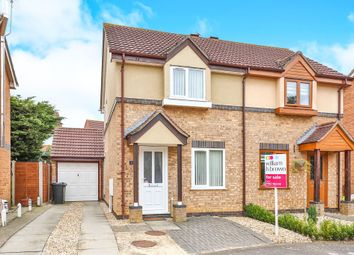 Thumbnail 2 bed semi-detached house for sale in Bulrush Close, Scarning, Dereham