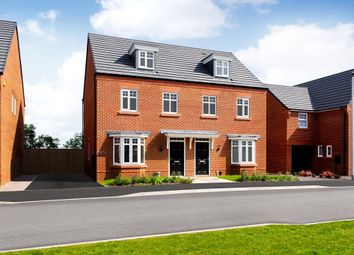 "Thumbnail 3 bed semi-detached house for sale in ""Kennett"" at Huntingdon Road, Thrapston, Kettering"