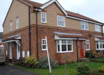 Thumbnail 1 bed terraced house to rent in Parker Drive, Bedale, North Yorkshire