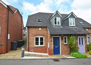 Thumbnail 2 bed semi-detached house for sale in Grandsire Drive, Hillmorton, Rugby
