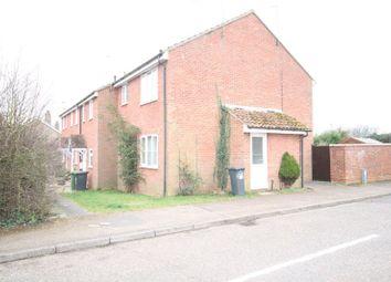 Thumbnail 1 bedroom terraced house to rent in Eckersley Drive, Fakenham