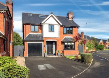 Thumbnail 5 bed detached house for sale in Rushes Meadow, Lymm