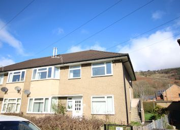 Thumbnail 2 bed flat for sale in Waunfawr Gardens, Cross Keys, Newport