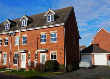 Thumbnail 3 bed town house to rent in Sherratt Close, Stapeley, Nantwich