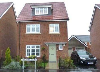 Thumbnail 4 bedroom detached house to rent in Spurrier Square, Chorley