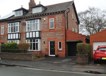 Thumbnail 4 bed semi-detached house to rent in Victoria Road, Stockton Heath, Warrington