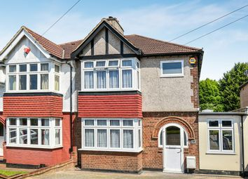 Thumbnail 3 bed semi-detached house for sale in Beaconsfield Road, London