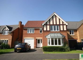 Thumbnail 4 bed detached house to rent in Ashley Way, Market Harborough