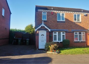 Thumbnail 3 bedroom semi-detached house for sale in Newells Drive, Tipton