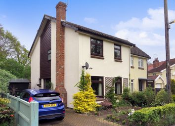 Thumbnail 3 bedroom semi-detached house for sale in The Street, Huntingfield, Halesworth