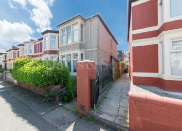 Thumbnail 3 bed end terrace house for sale in St. Vincent Road, Off Corporation Road, Newport.
