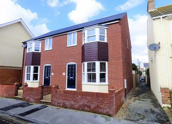 Thumbnail 2 bed semi-detached house for sale in Brownlow Street, Weymouth